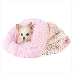 Pink Leopard Shag Bed 27% Off