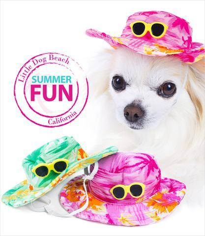 Hawaiian Hats for Dogs Many Colors to Choose From-$16.99