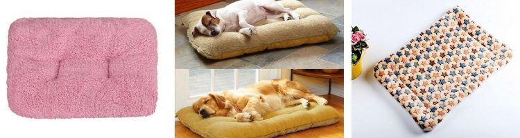 dog bed, cushion dog bed, plush, soft, warm dog bed